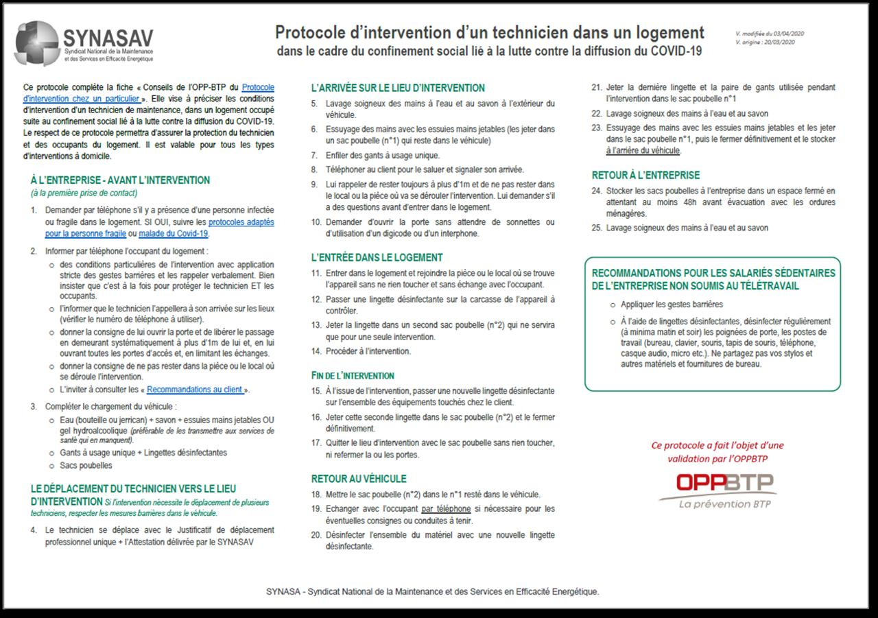 COVID-8 : Publication du Guide officiel des préconisations de